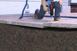 Polyurethane Concrete Lifting